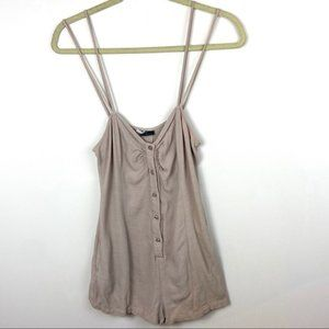 Urban Outfitters Sparkle ans Fade Romper Sz Medium